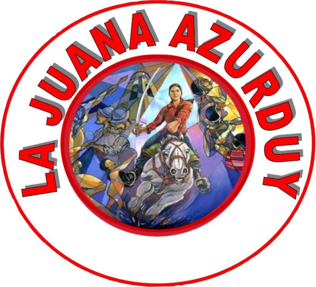 logo de La Juana Azurduy
