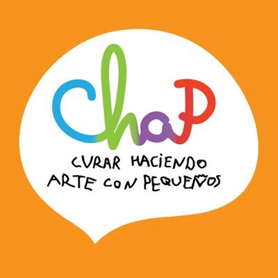 logo de CHAP Curar Haciendo Arte con Pequeños